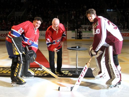 Kingston Frontenacs Peterborough Petes during Ontario Hockey League